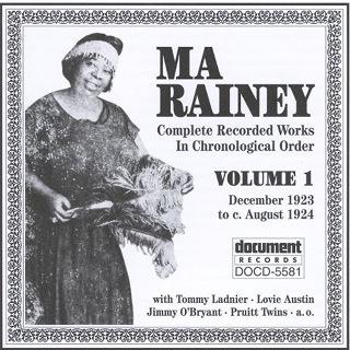 Ma Rainey, Vol1 (1923-1924) - Ma Rainey.JPG
